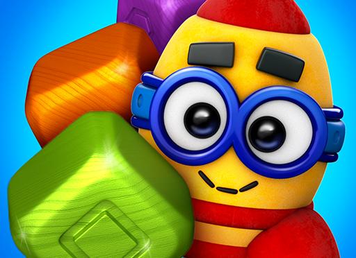 【無料の究極暇つぶし!】時間を忘れてハマる。脳トレに最適なパズル!ToyBlast
