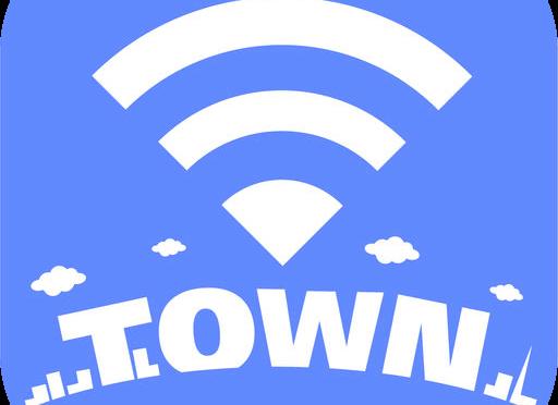 タウンwi-fi,,アプリ,通信量,iphone,Android