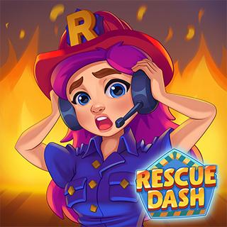 あなたがレスキュー・ヒーロー! 街中の困った人を助けよう!無料シミュレーションゲーム『Rescue Dash』